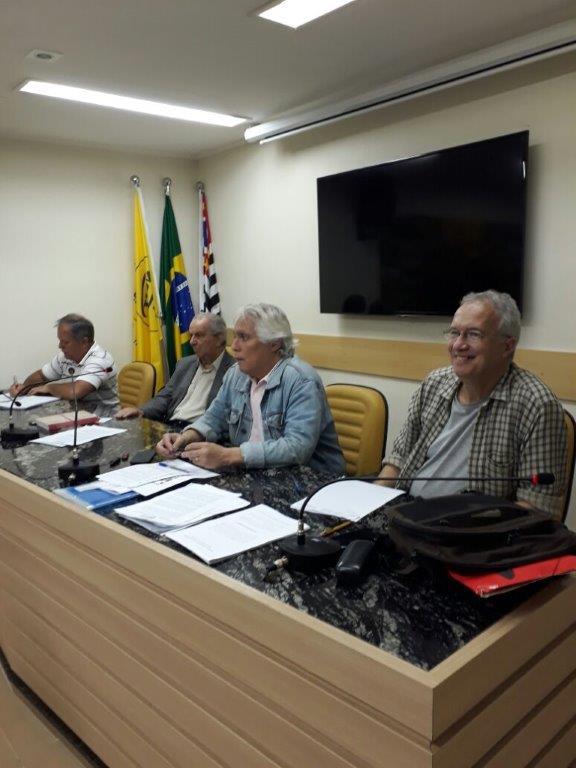 Em destaque, Augusto Portugal - pres. da Plenária Paulista