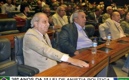 Saulo Gomes - Pres. da ABAP e Antonio Diniz - tesoureiro da ABAP