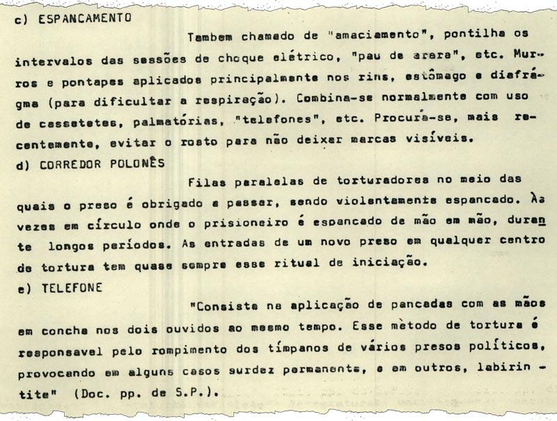 Durante debates sobre anistia, presos políticos enviaram ao Congresso descrição das torturas que haviam sofrido (imagem: Arquivo do Senado)