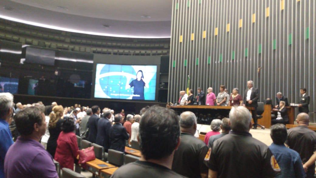 Dia 26 - Sessão Solene no Plenário Ulysses Guimarães