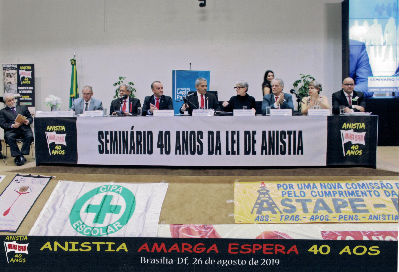 """Dia 27 - Seminário Anistia 40 anos  """"Amarga Espera"""""""