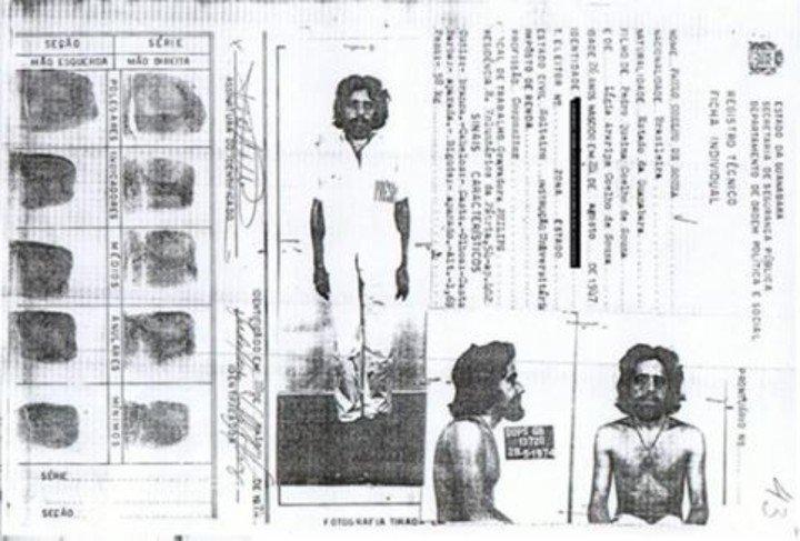 O registro policial de Paulo Coelho, preso em 1974