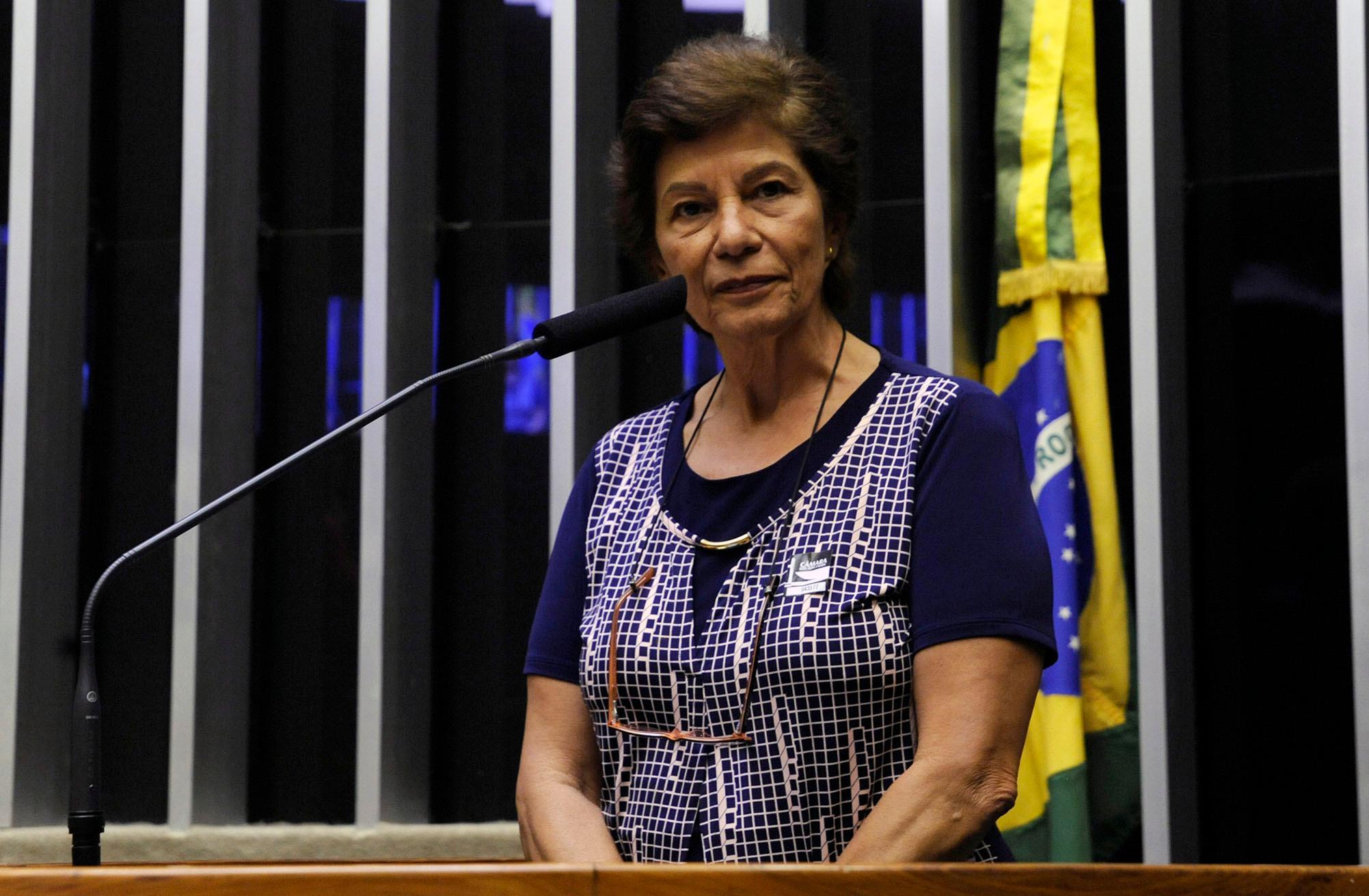 presidente da Associação Brasileira de Anistiados Políticos (ABAP), Clelia Hunke